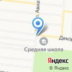 Декоратор на карте Барнаула