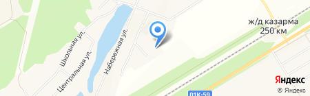 УКРЕПРАЙОН на карте Барнаула