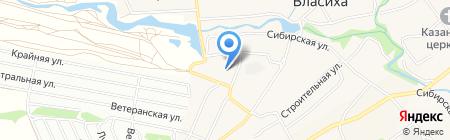 Средняя общеобразовательная школа №98 на карте Барнаула