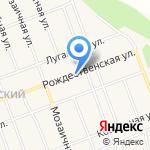 Пивков на карте Барнаула