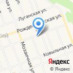Развитие на карте Барнаула