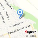 Салюбрис на карте Барнаула