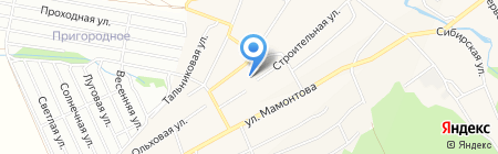 Детский сад №236 на карте Барнаула