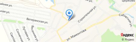 Калина на карте Барнаула