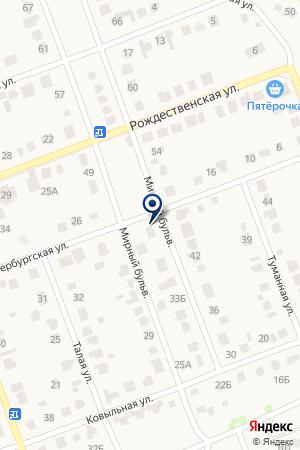 Мебельная компания на карте Барнаула