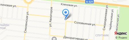 Ням-ням на карте Барнаула