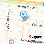 Алтайское мясо на карте Барнаула