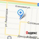 Кенгу 24 на карте Барнаула