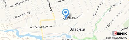 Ваш Мастер на карте Барнаула