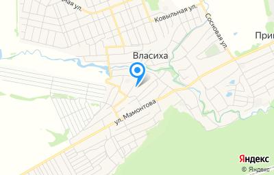 Местоположение на карте пункта техосмотра по адресу г Барнаул, с Власиха, ул Строительная, д 16Г