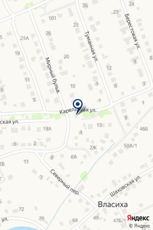 У тополя на карте Барнаула