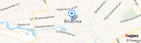 То-То на карте Барнаула