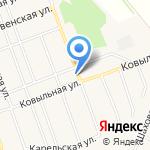 Крестьянин на карте Барнаула