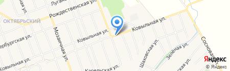Магазин фруктов и овощей на Ковыльной на карте Барнаула
