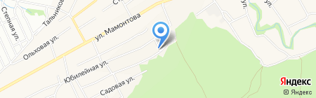Квадро на карте Барнаула