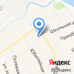 Библиотека №29 на карте Барнаула
