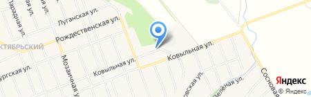 Лесная корзинка на карте Барнаула