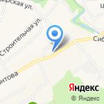 Мясной дом на карте Барнаула