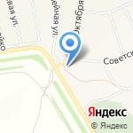 Верста на карте Барнаула