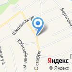 Почтовое отделение №27 на карте Барнаула