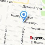Ивушка на карте Барнаула