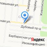Тех-икс на карте Барнаула
