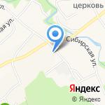 Власихинский лесохозяйственный участок на карте Барнаула