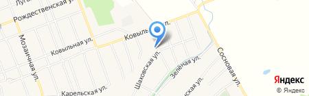 Удобный на карте Барнаула