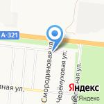 Берком на карте Барнаула