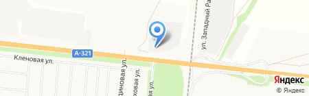 Альтерра на карте Барнаула