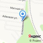 Радужный спутник на карте Барнаула