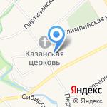 ГраФФоноff на карте Барнаула