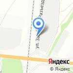 Агрохимторг на карте Барнаула