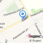 ЗЕЛЕНЫЙ РАЙ на карте Барнаула