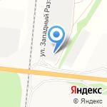 Полипром на карте Барнаула