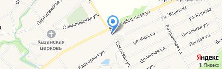 Первый на карте Барнаула