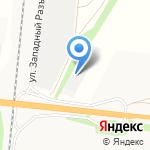 Молчанов А.В. на карте Барнаула