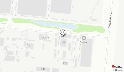 Магазин автозапчастей для Камаз. Схема проезда в Барнауле