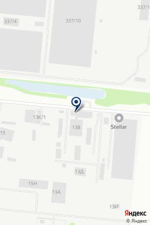 РСТ на карте Барнаула