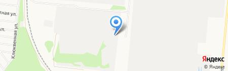 Ена на карте Барнаула