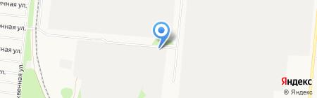 Оптово-розничный склад запчастей для МАЗ КАМАЗ на карте Барнаула