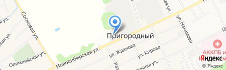 Завод Стеновых Блоков на карте Барнаула
