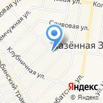 Пёсий двор на карте Барнаула