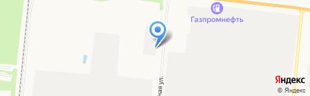 КАЭМ на карте Барнаула