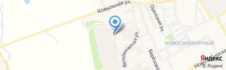 100 кубов на карте Барнаула