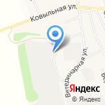 Сто Кубов на карте Барнаула