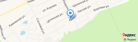 Серебро на карте Барнаула