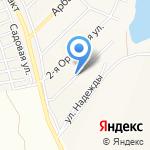 Стандарт на карте Барнаула