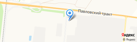 АЛТ АВТО на карте Барнаула
