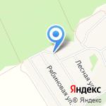 Алекста-ток на карте Барнаула
